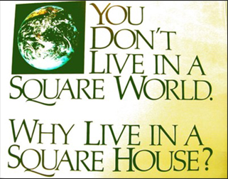you dont live in a square world