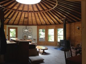 35 Year Old Yurt