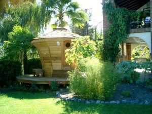 Side Yard Sauna