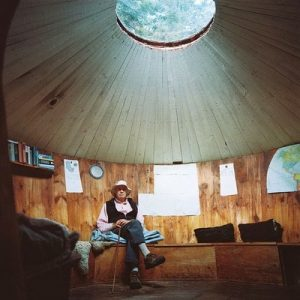 Uninsulated Wood Yurt