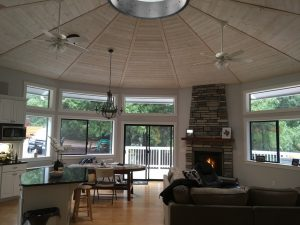 Living Room Yurt
