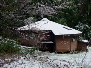 Yurt in Mill Creek
